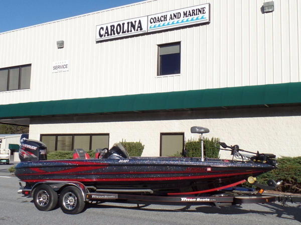 Used Triton 21 HP Bass Boat For Sale