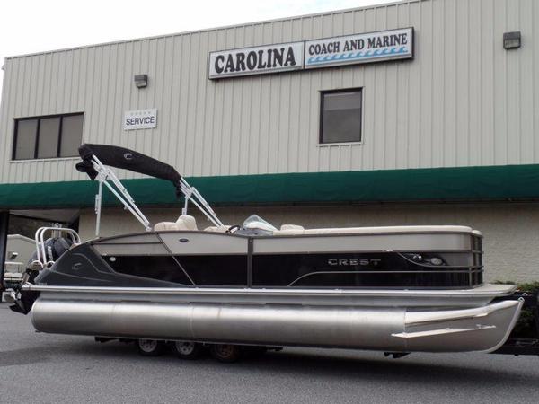 New Crest Pontoon Boats Caribbean 250 SLR2 Pontoon Boat For Sale