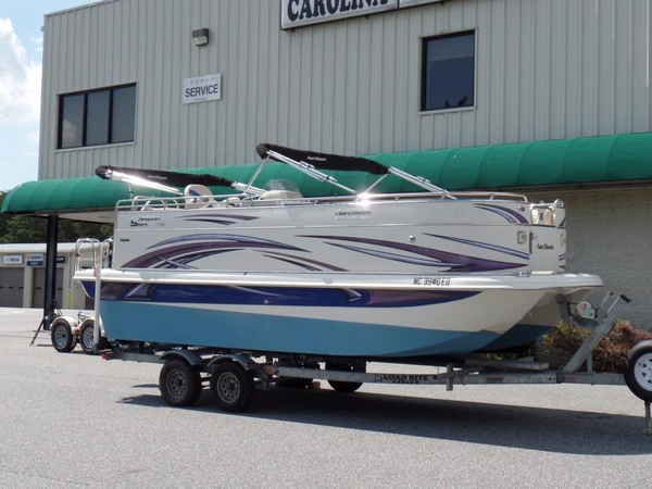 Used Fun Chaser FGP 2100 Pontoon Boat For Sale