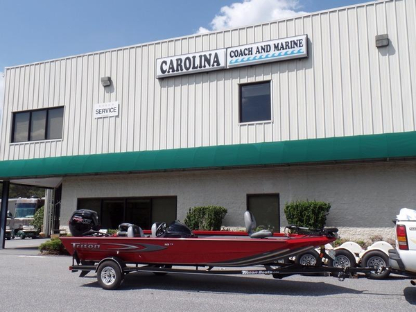 New Triton 18 TX Bass Boat For Sale