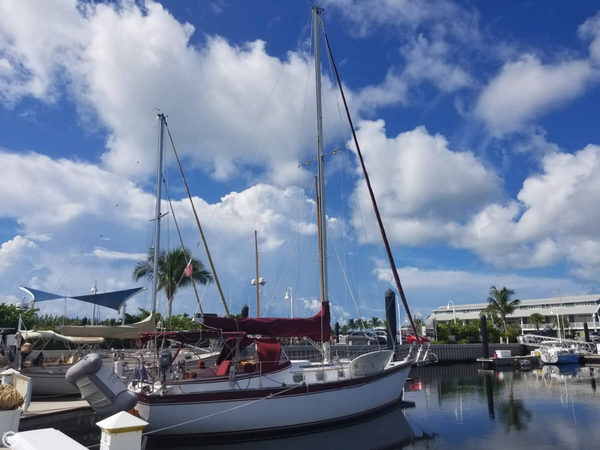 Used Endeavour 37 Plan B Sloop Sailboat For Sale