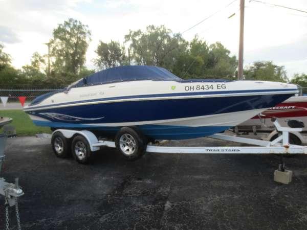 Used Rinker 226 Captiva Bowrider Boat For Sale