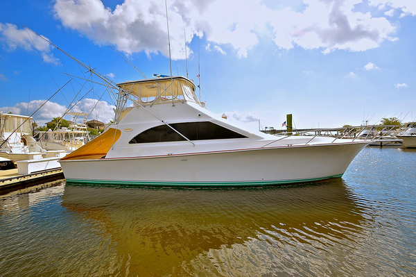 Used Ocean Yachts Convertible Super Sport Sportfish Convertible Fishing Boat For Sale