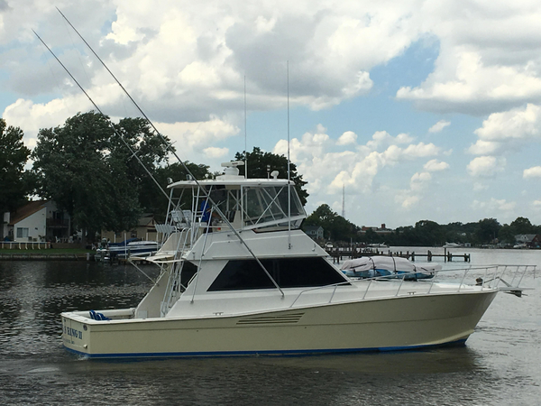 Used Viking Convertible Sportfish Convertible Fishing Boat For Sale