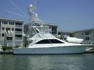 Used Ocean Yachts Cat Power 48 Super Sport Convertible Fishing Boat For Sale