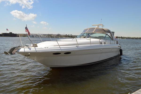 Used Sea Ray 410 Sundancer Express Cruiser Boat For Sale