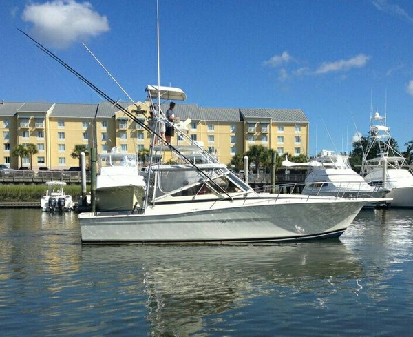 Used Viking Express NEW POWER Sports Fishing Boat For Sale