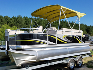 New Qwest LS 818 Lanai Cruise Pontoon Boat For Sale