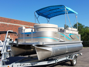 New Qwest LS 7516 CTR Pontoon Boat For Sale