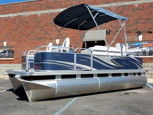 New Qwest Adventure 7516 VX Fish Pontoon Boat For Sale