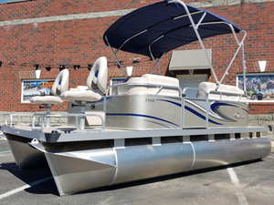 New Qwest Adventure 7516 Sport Cruise Pontoon Boat For Sale