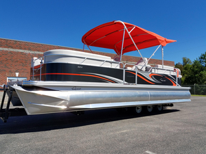 New Qwest LS 824 Lanai Bar Pontoon Boat For Sale