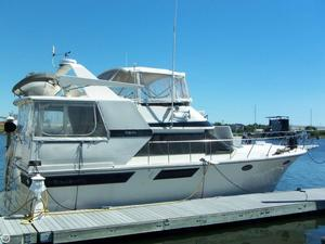 Used Californian 4207 Aft Cabin Motoryacht Flybridge 42 Trawler Boat For Sale