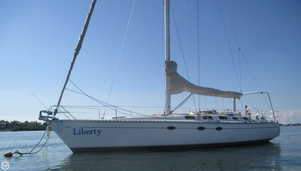 Used Hunter 45 Legend Racer and Cruiser Sailboat For Sale
