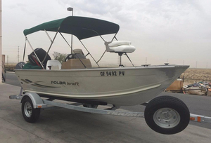 Used Polar Kraft 14RC Freshwater Fishing Boat For Sale