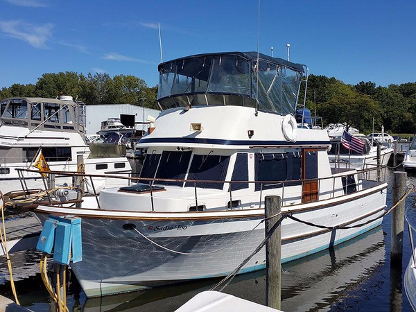Used United Ocean 38 Double Cabin Trawler Aft Cabin Boat For Sale