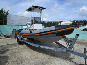 Used Zodiac Sport Cruising Pro Open 650 Inflatable Boat For Sale
