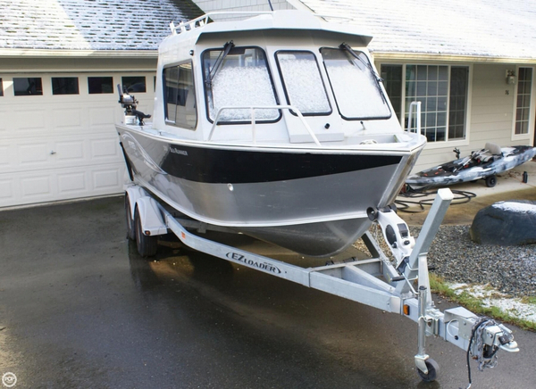 Used Hewescraft 210 Sea Runner Aluminum Fishing Boat For Sale