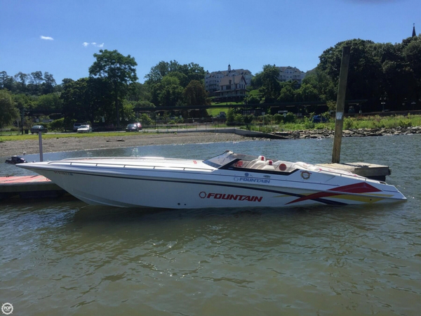 Used Fountain Fever 33 High Performance Boat For Sale