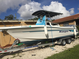 Used Ranger 250C Sportfisherman Center Console Fishing Boat For Sale