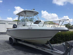 Used Pro Sports 2550 WA Saltwater Fishing Boat For Sale