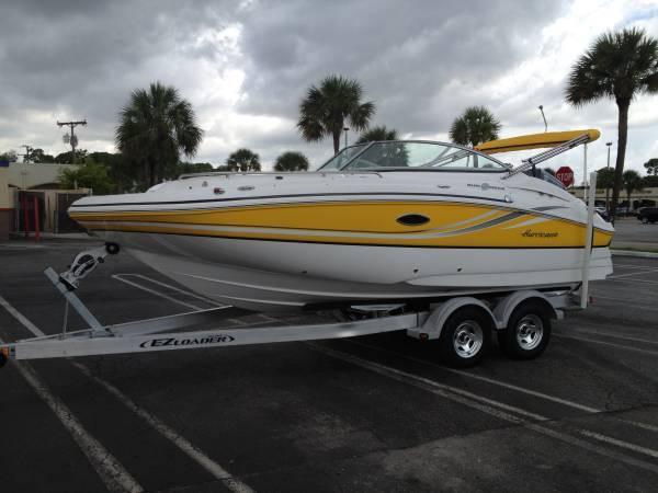 Used Hurricane 2000 Sundeck Bowrider Boat For Sale