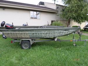 Used Polar Kraft MV1468LW Jon Boat For Sale