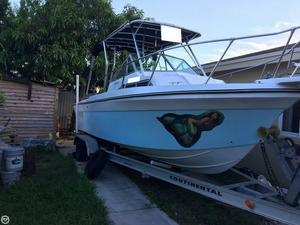 Used Sportcraft 222 Fishmaster WAC Walkaround Fishing Boat For Sale