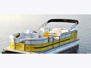 Used Encore Boat Builders 200 Cruise Pontoon Boat For Sale