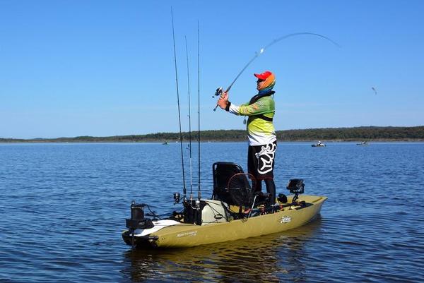 Used Hobie Cat Mirage Pro Angler 14 Kayak Boat For Sale