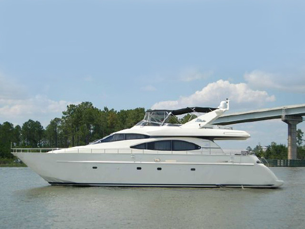 Used Azimut SEA JET Flybridge Boat For Sale