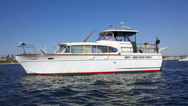 Used Chris-Craft 42 Constellation Aft Cabin Boat For Sale