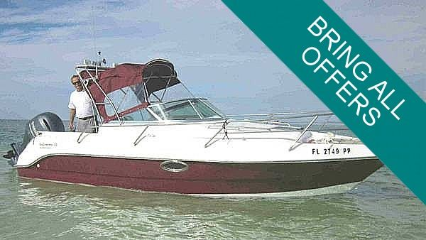 Used Allmand Sea Dreamer 23 Walkaround Fishing Boat For Sale