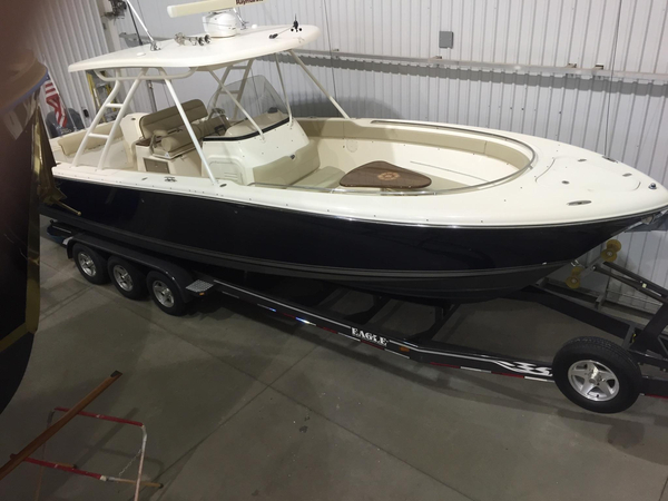 Used Pursuit SS 310 Center Console Center Console Fishing Boat For Sale