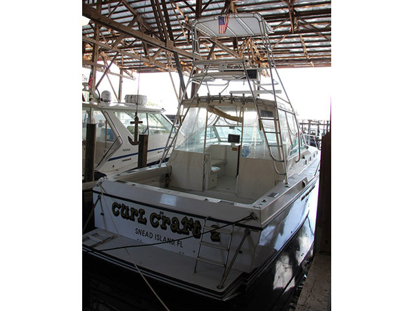 Used Cat Limbo 40 Limbo Custom Express Sports Fishing Boat For Sale