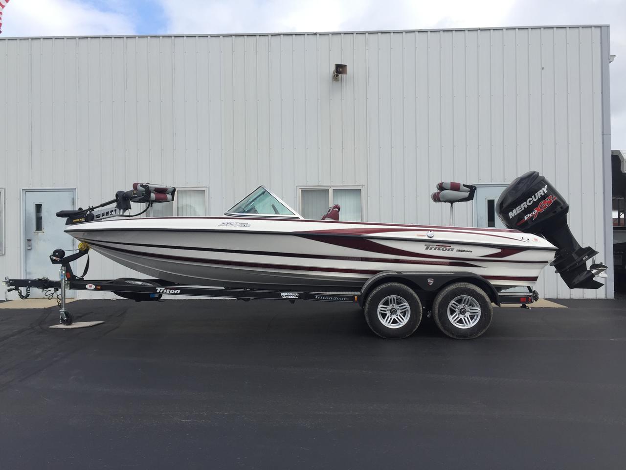 2017 new triton boats 220 escape ski and fish boat for for Triton fish and ski