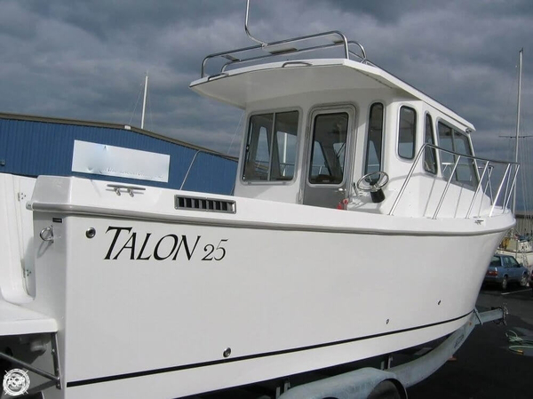 Used Talon 25 Pilothouse Boat For Sale
