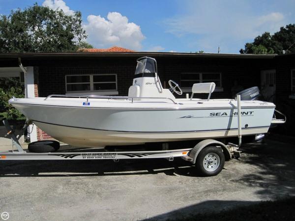 Used Sea Hunt Triton 172 Center Console Fishing Boat For Sale