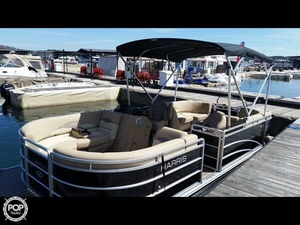 Used Harris Flotebote 220 CR Pontoon Boat For Sale