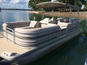 Used Sanpan 2500LE Pontoon Boat For Sale