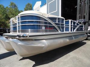 Used Sanpan SP 2200 SLR Pontoon Boat For Sale