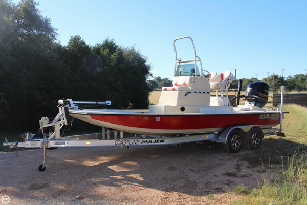 Used Majek 226 Illusion Flats Fishing Boat For Sale
