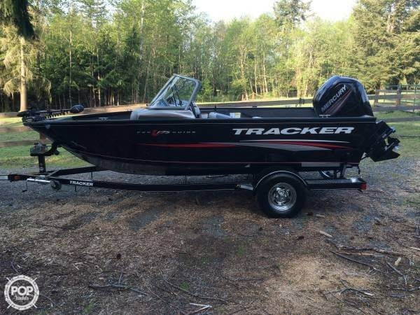 Used Tracker V175 Pro Guide COMBO Bass Boat For Sale
