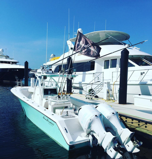 Used Seahunter 32 Center Console Fishing Boat For Sale