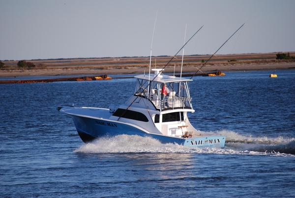 Used Buddy Harris 47 Custom Carolina Sports Fishing Boat For Sale