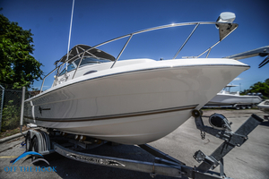Used Aquasport 215 Explorer Saltwater Fishing Boat For Sale