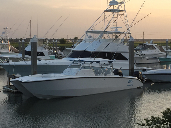 Used Prowler 42 Center Console Fishing Boat For Sale