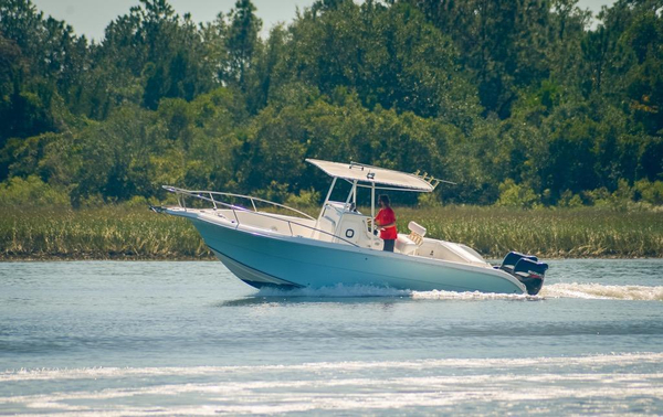Used Sea Fox 257 Center Console Saltwater Fishing Boat For Sale
