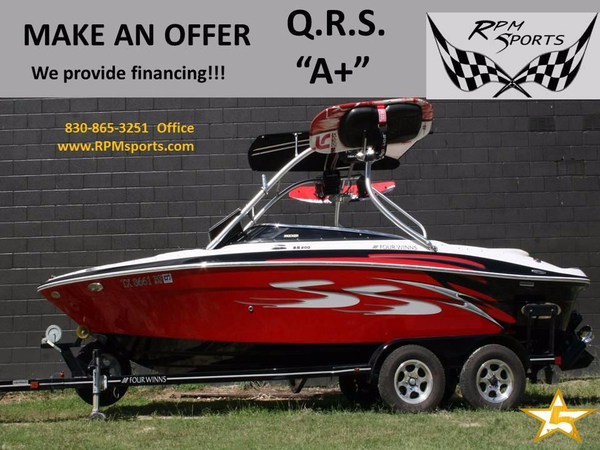 Used Four Winns HS200SS Bowrider Boat For Sale