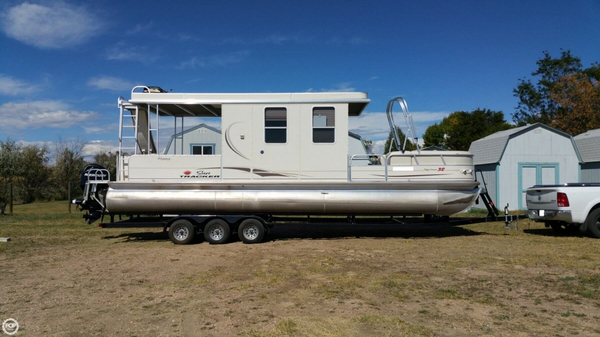 Used Sun Tracker 32 Party Barge Regency Edition Pontoon Boat For Sale